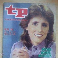 Coleccionismo de Revista Teleprograma: TP TELEPROGRAMA 891 BUENAS NOCHES - MERCEDES MILÁ (1983). Lote 50870152