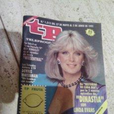Coleccionismo de Revista Teleprograma: TELEPROGRAMA N. 1.312 DINASTIA 1991 . Lote 51080169