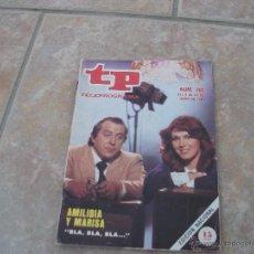 Coleccionismo de Revista Teleprograma: REVISTA TP-TELEPROGRAMA.NUMERO 792.AÑO 1981. Lote 51208672