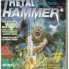 Collezionismo di Rivista Teleprograma: METAL HAMMER. Nº 35. OCTUBRE 1990. P/B6). Lote 90754173
