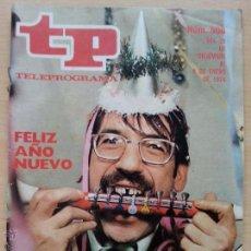 Coleccionismo de Revista Teleprograma: TP TELEPROGRAMA 508 FELIZ AÑO NUEVO - TIP (1976). Lote 52302903