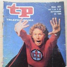 Coleccionismo de Revista Teleprograma: TP TELEPROGRAMA 961 EL GRAN HÉROE AMERICANO - WILLIAM KATT (1983). Lote 57585191