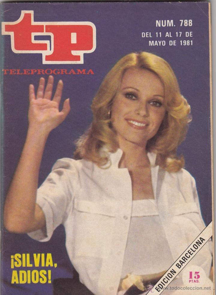 REVISTA TP TELEPROGRAMA Nº 788 AÑO 1982. SILVIA ADIOS. (Coleccionismo - Revistas y Periódicos Modernos (a partir de 1.940) - Revista TP ( Teleprograma ))