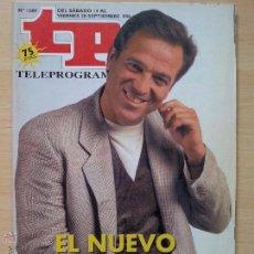 Collectionnisme de Magazine Teleprograma: TP TELEPROGRAMA 1589 ESTA NOCHE CRUZAMOS EL MISSISSIPPI - PEPE NAVARRO (1996). Lote 52448549