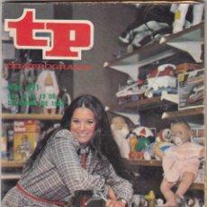Coleccionismo de Revista Teleprograma: REVISTA TP TELEPROGRAMA Nº 871 AÑO 1982. . Lote 52505465