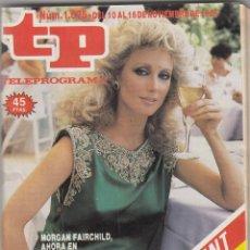 Coleccionismo de Revista Teleprograma: REVISTA TP TELEPROGRAMA Nº 1075 AÑO 1986. FALCON CREST.. Lote 52692336