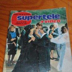 Coleccionismo de Revista Teleprograma: SUPERTELE + VIDEO Nº 229 1984 - COSAS DE DOS CON TIP Y MAS. Lote 52802233