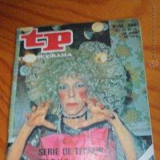 Coleccionismo de Revista Teleprograma: TP TELEPROGRAMA Nº 480 1975 - EL QUINTO JINETE Y MAS. Lote 52802283