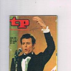 Coleccionismo de Revista Teleprograma: TELEPROGRAMA 204 JULIO IGLESIAS MARZO 1970 TP. Lote 52842767