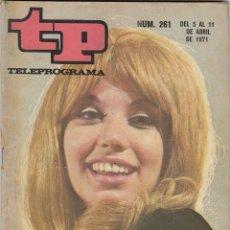 Colecionismo da Revista Teleprograma: REVISTA TP TELEPROGRAMA Nº 261 AÑO 1971. KARINA. . Lote 52860948