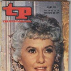 Coleccionismo de Revista Teleprograma: REVISTA TP TELEPROGRAMA N 202 AÑO 1970. BARBARA STANWYCK. . Lote 52860966