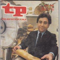 Coleccionismo de Revista Teleprograma: REVISTA TP TELEPROGRAMA Nº 880 AÑO 1983. CONSUMO. EN DEFENSA DE TODOS. . Lote 52963922
