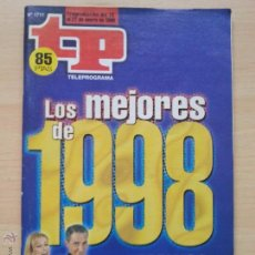 Coleccionismo de Revista Teleprograma: TP TELEPROGRAMA 1711 TP DE ORO (1999). Lote 52973050