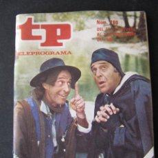 Coleccionismo de Revista Teleprograma: REVISTA TP TELEPROGRAMA Nº 760. AÑO 1980. JUANJO MENENDEZ Y JESUS PUENTE. . Lote 53074014