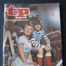 Coleccionismo de Revista Teleprograma: REVISTA TP TELEPROGRAMA Nº 511. AÑO 1976. EL HADA REBECA. . Lote 53074028