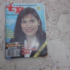 Coleccionismo de Revista Teleprograma: REVISTA TP Nº 1294, CONCHA GARCIA CAMPOY, 27 ENERO-1991. Lote 53657952