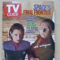 Coleccionismo de Revista Teleprograma: TV GUIDE Nº2409 STAR TREK: DEEP SPACE NINE (1999) EL TELEPROGRAMA DE USA. Lote 53825163