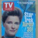 Coleccionismo de Revista Teleprograma: TV GUIDE Nº2265 STAR TREK TURNS 30: KATE MULGREW (1996) EL TELEPROGRAMA DE USA. Lote 53825238