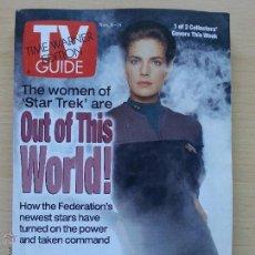 Coleccionismo de Revista Teleprograma: TV GUIDE Nº2328 STAR TREK DEEP SPACE NINE: TERRY FARRELL (1997) EL TELEPROGRAMA DE USA. Lote 53825288