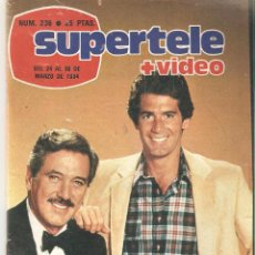 Coleccionismo de Revista Teleprograma: REVISTA SUPERTELE Nº 236. 1984. Lote 54178939