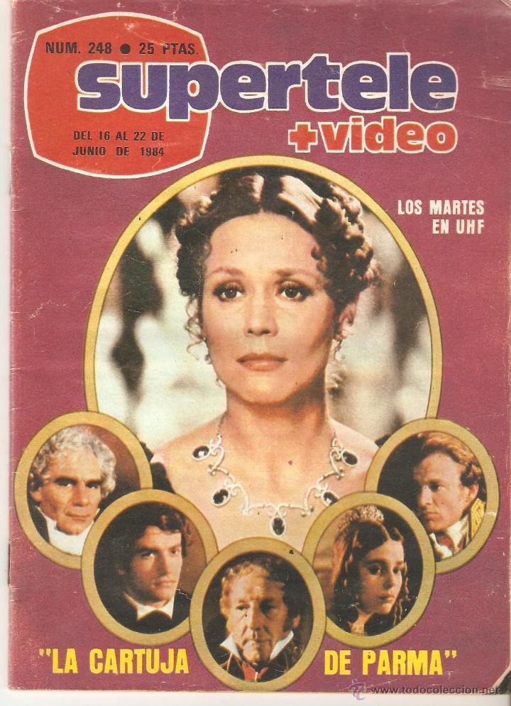 REVISTA SUPERTELE Nº 248. 1984 (Coleccionismo - Revistas y Periódicos Modernos (a partir de 1.940) - Revista TP ( Teleprograma ))