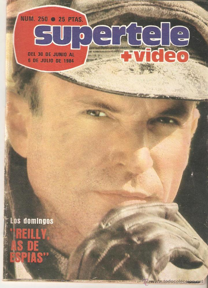 REVISTA SUPERTELE Nº 250. 1984 (Coleccionismo - Revistas y Periódicos Modernos (a partir de 1.940) - Revista TP ( Teleprograma ))