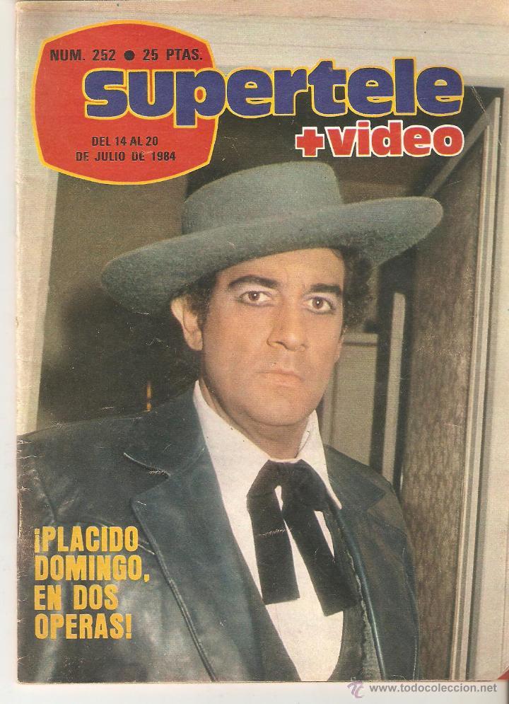 REVISTA SUPERTELE Nº 252. 1984 (Coleccionismo - Revistas y Periódicos Modernos (a partir de 1.940) - Revista TP ( Teleprograma ))