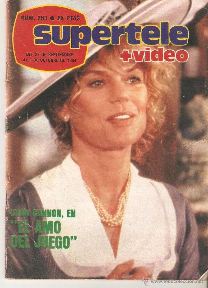 REVISTA SUPERTELE Nº 263. 1984 (Coleccionismo - Revistas y Periódicos Modernos (a partir de 1.940) - Revista TP ( Teleprograma ))
