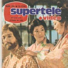 Coleccionismo de Revista Teleprograma: REVISTA SUPERTELE Nº 264. 1984. Lote 54179168