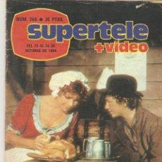 Coleccionismo de Revista Teleprograma: REVISTA SUPERTELE Nº 266. 1984. Lote 54179194
