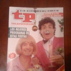 Coleccionismo de Revista Teleprograma: REVISTA TP N'1186 AÑO 1989. Lote 54305905