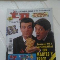Coleccionismo de Revista Teleprograma: REVISTA TP N'1395 MARTES Y TRECE.. Lote 54410766