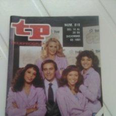 Coleccionismo de Revista Teleprograma: REVISTA TP N'819 GOL Y AL MUNDIAL AÑO 1981. Lote 54410862