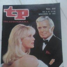 Coleccionismo de Revista Teleprograma: REVISTA TP N'866 DINASTIA AÑO 1982. Lote 54411162