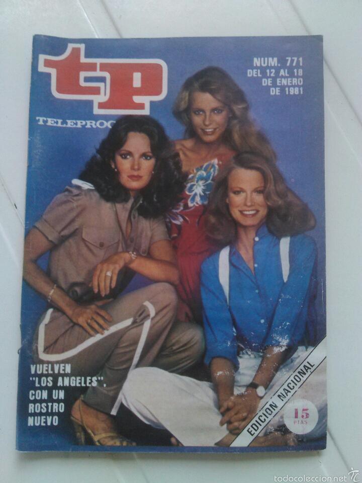 """REVISTA TP N'771 VUELVEN """"LOS ANGELES"""" CON UN ROSTRO NUEVO,AÑO 1981 (Coleccionismo - Revistas y Periódicos Modernos (a partir de 1.940) - Revista TP ( Teleprograma ))"""