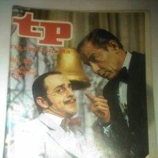 Coleccionismo de Revista Teleprograma: REVISTA TP N' 605 TELEPROGRAMA AÑO 1977. Lote 54501365