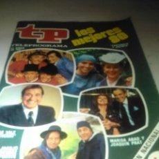 Coleccionismo de Revista Teleprograma: REVISTA TP N'781 LOS MEJORES 80.AÑO 1981. Lote 54501812