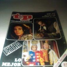 Coleccionismo de Revista Teleprograma: REVISTA TP N'870 LO MEJOR Y LO PEOR DEL AÑO. 1982. Lote 54501963