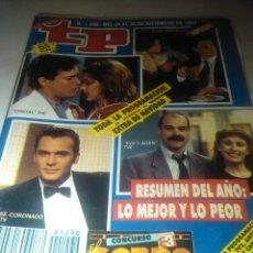 Coleccionismo de Revista Teleprograma: REVISTA TP N'1290 RESUMEN DEL AÑO:LO MEJOR Y LO PEOR.1990. Lote 54501999