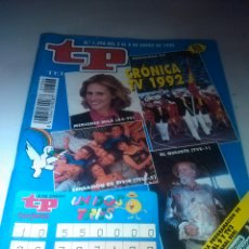 Coleccionismo de Revista Teleprograma: REVISTA TP N'1396 CRONICA T.V.1992.AÑO 1993. Lote 54502034