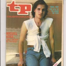 Coleccionismo de Revista Teleprograma: TP. TELEPROGRAMA. Nº 687. 10 JUNIO 1979. (P/D41). Lote 54584615
