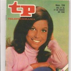 Coleccionismo de Revista Teleprograma: TP. TELEPROGRAMA. Nº 720. 27 ENERO 1980. (P/D41). Lote 54586549