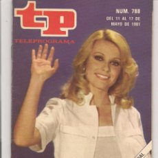 Coleccionismo de Revista Teleprograma: TP. TELEPROGRAMA. Nº 788. 17 MAYO1981. (P/D41). Lote 54587759