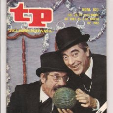 Coleccionismo de Revista Teleprograma: TP. TELEPROGRAMA. Nº 821. 3 ENERO 1982. (P/D41). Lote 54590567