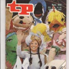 Coleccionismo de Revista Teleprograma: TP. TELEPROGRAMA. Nº 822. 10 ENERO 1982. (P/D41). Lote 54590575