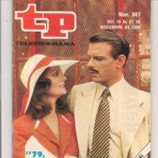 Coleccionismo de Revista Teleprograma: TP. TELEPROGRAMA. Nº 867. 21 NVBRE.1982. (P/D41). Lote 54590737