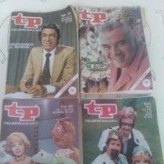 Coleccionismo de Revista Teleprograma: 4 REVISTAS TP N'604-607-614-618.. Lote 54607395