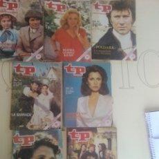 Coleccionismo de Revista Teleprograma: 7 REVISTAS TP N'701-702-703-704-705-706-708.. Lote 54607607