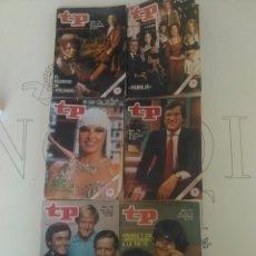 Coleccionismo de Revista Teleprograma: 6 REVISTAS TP N'710-711-712-713-714-718.. Lote 54607690