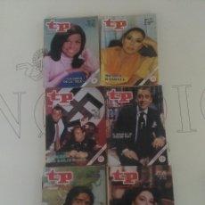 Coleccionismo de Revista Teleprograma: 6 REVISTAS TP N'720-723-724-726-727-728.. Lote 54607813